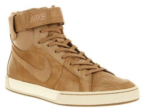 nike brown sneakers mens nike air flytop p shale brown suede leather lace up