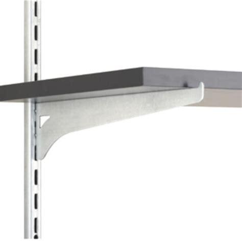 10 quot zinc single track wood shelf bracket at menards 174
