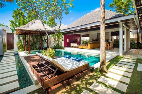 2 bedroom private pool villa seminyak luxury pool villa chandra bali villas