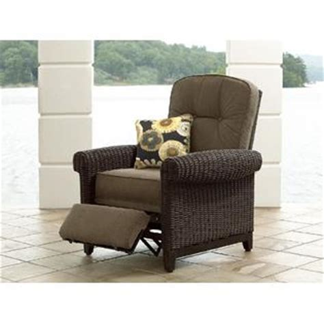 lazy boy patio recliner la z boy outdoor maddox recliner