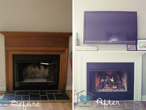 Fireplace Makeover Ideas Before After by Before After 15 Fireplace Surrounds Made Page 3
