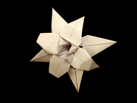 Origami Lotus Blossom - origami lotus flower by thatandyguy95 on deviantart