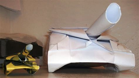 How To Make An Origami Tank - origami tank obsessed by helenacomz on deviantart