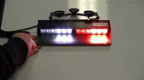 feniex cobra dash light feniex cobra 2x led dash light close up youtube