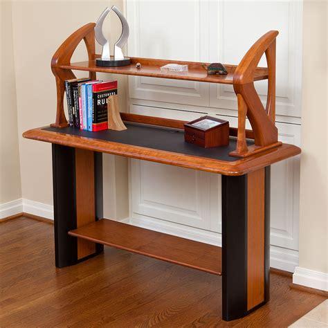 desk with bookshelf on side artistic book shelf caretta workspace