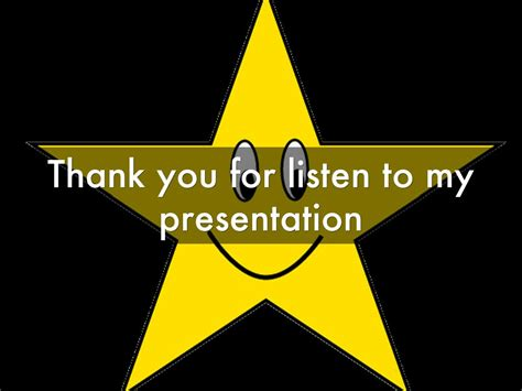 thank you letter to for listening thank you for listening to my presentation clipart