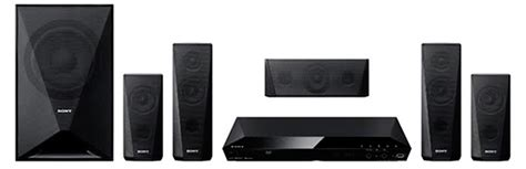 sony 5 1 dvd home theatre system dz 350 black 70195