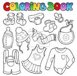 vinilo colorear la ropa de libros para beb 233 s pantalones