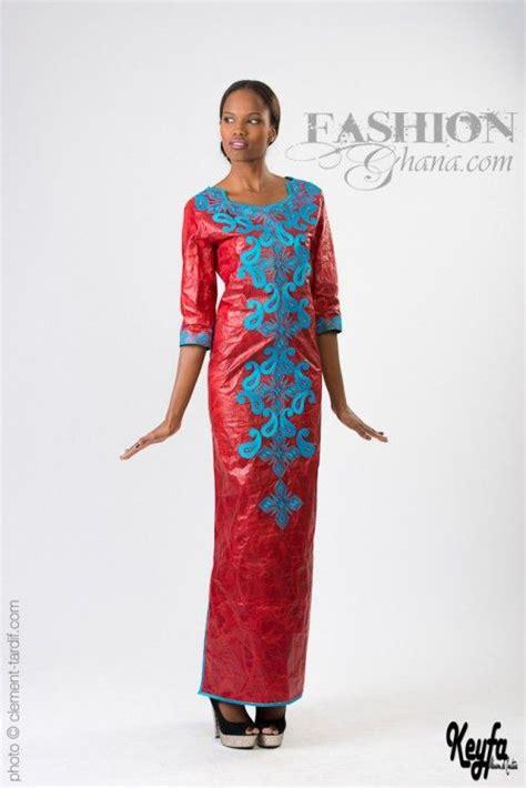 Suri Print Dress B L F senegal s fashion label keyfa by bathj dioum releases