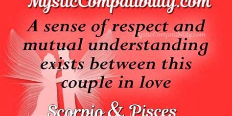 scorpio pisces compatibility mystic compatibility