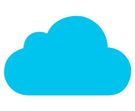 cloud shape in visio cloud computing clipart innovation through agility