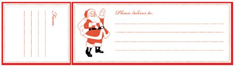 printable address labels from santa free printable santa mailing labels home creature