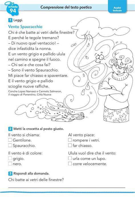 test di italiano oltre 25 fantastiche idee su lettura terza elementare su
