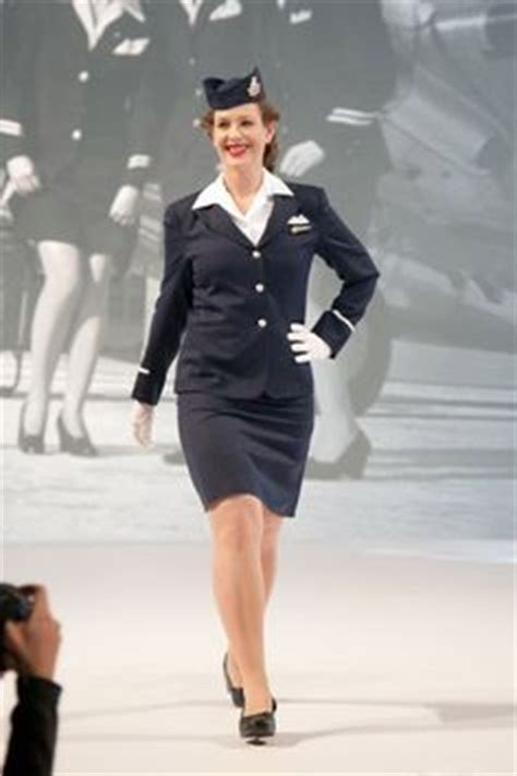Flight Attendant Fashion by 1000 Images About Stewardess Fashion Hairstyles On