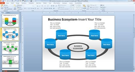 Free Home Design Software Download business ecosystem actors powerpoint template