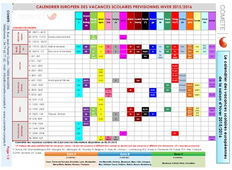 Calendrier Cepeo Calendrier Scolaire Europe 2017 Clrdrs