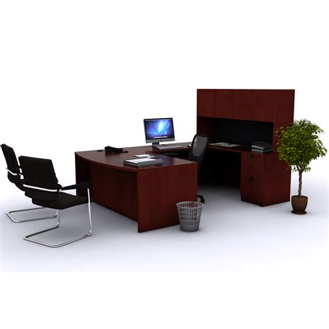 office desk u shaped bow front desk new office