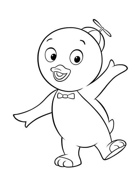 Coloring Pages For To Print by Free Printable Backyardigans Coloring Pages For