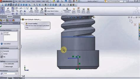 solidworks tutorial helix how to use the section view helix spiral cut sweep in a