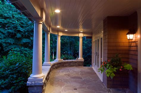 Patio Column Lights Architectural Lighting Enlightened Lighting