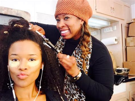 what kind of hair does tiana from empire have in empire inspired natural hairstyles natural hair growth 101