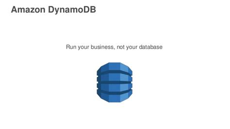 amazon dynamodb getting started with amazon dynamodb
