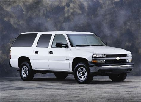 2001 Chevrolet Suburban Pictures, History, Value, Research