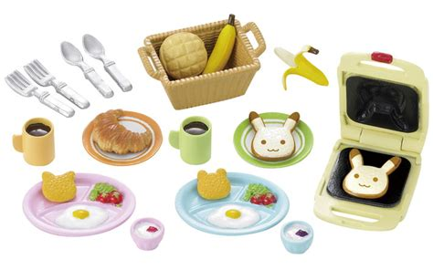 Breakfast Set Sylvanian 5024 sylvanian families catalogue girl s collection