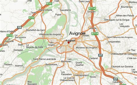map of avignon avignon location guide