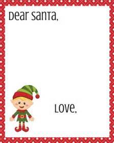 dear santa letter template dear santa printables new calendar template site