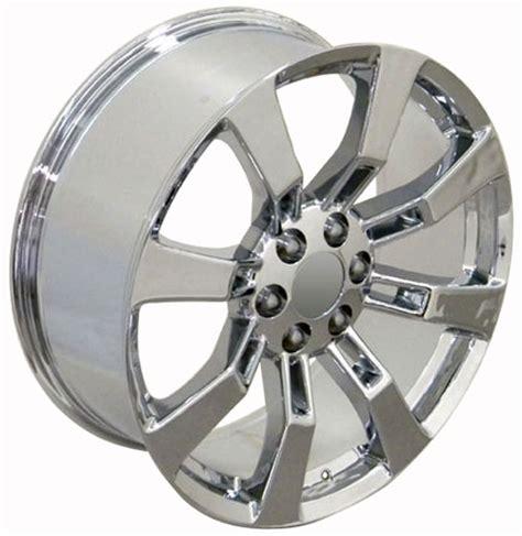 Chrome Cadillac Rims 22 Quot Chrome Rims Fit Cadillac Escalade Wheel Set