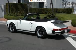 1987 Porsche 911 Convertible 1987 Porsche 911 Cabriolet Condition