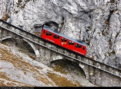 cremagliera pilatus the world s steepest cogwheel railway at mount pilatus