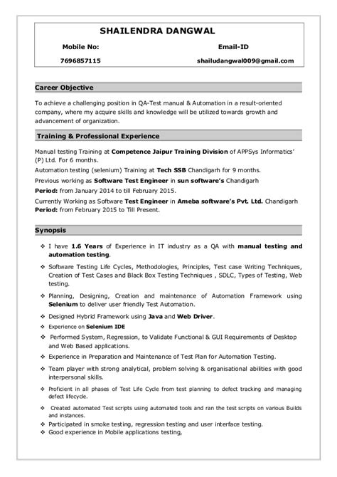 6 months experience resume sle in software engineer resume ideas