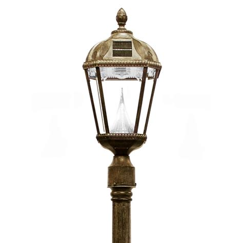 Solar Powered Post Lights by Solar Powered L Post Images