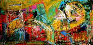 colorful abstract paintings elizabeth chapman color maze modern contemporary