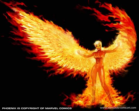like the phoenix i rise phoenix marvel and rachel summers