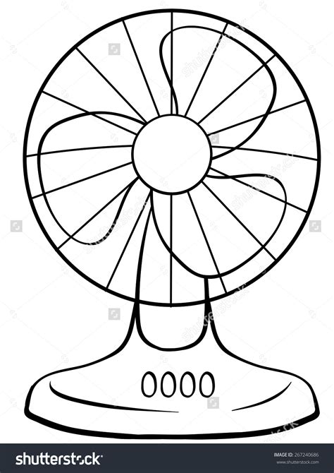 drawing clipart fan clipart drawing pencil and in color fan clipart drawing