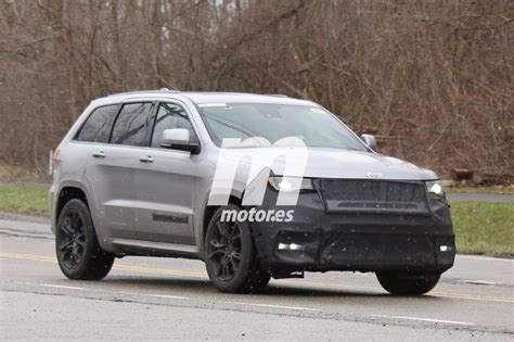 Jeep Michigan The New Jeep Grand Trackhawk 2018 Can Be Seen By