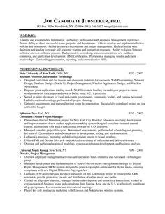 project resume exle inspiring manager resume to be successful in