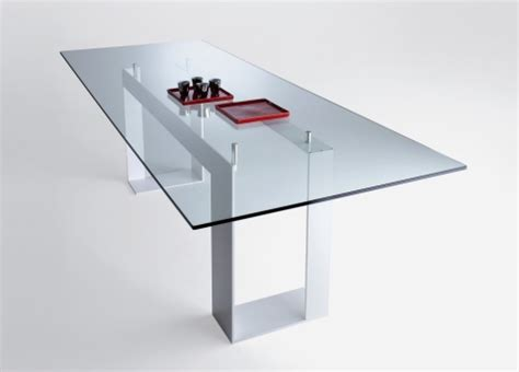 Extending Coffee Table miles dining table contemporary glass dining tables