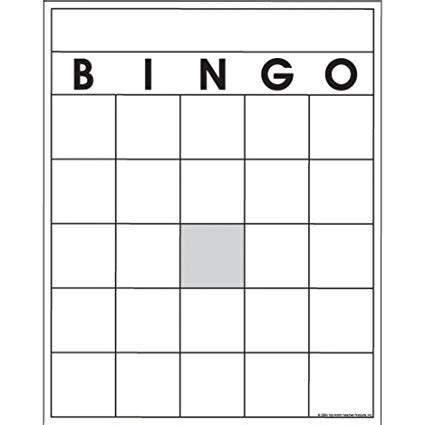 bingo sheet template awesome bingo template festooning resume exle