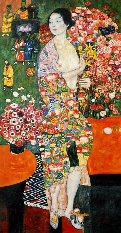 Klimt La by Gustav Klimt La Ballerina Libertaearte Giapponismo