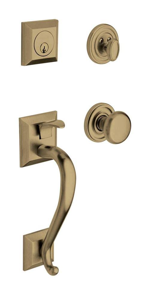 Baldwin Brass Ls by Baldwin 85320 050 Dblc Satin Brass Black Cylinder