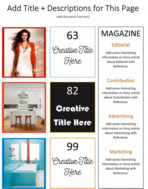 Magazine Template For Microsoft 174 Word Dotxes Magazine Template Microsoft Word