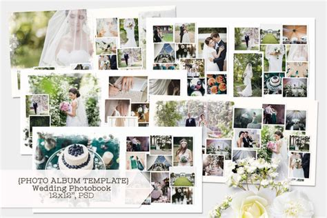 Wedding Photo Album Design Templates Adobe Photoshop by Simple Photoshop Album Templates With Unique Designs