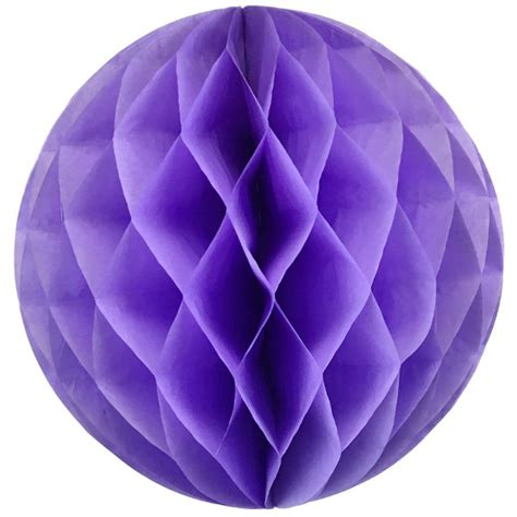 Tissue Paper Balls - tissue paper honeycomb 6inch lilac