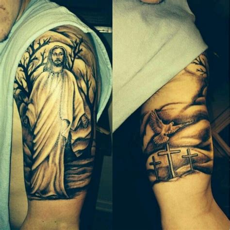 jesus dove calvary tattoo tattoos pinterest jesus