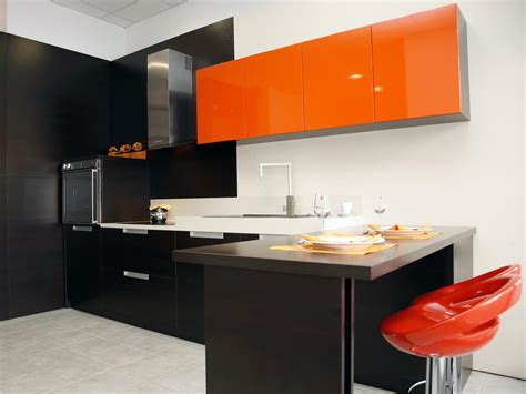 10 ways to use orange and white in your home s decor 10 ways to color your kitchen cabinets diy kitchen
