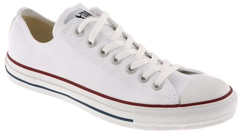 Converse All Low White converse all low in white for lyst